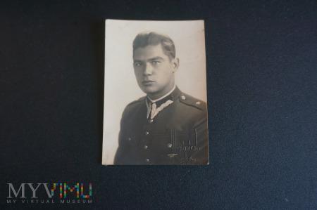 Pamiątkowe zdjęcie Pana Podporucznika okres II RP