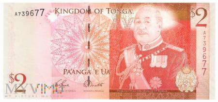 Tonga - 2 pa'anga (2009)