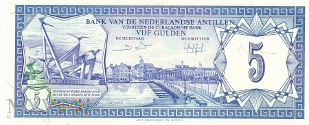 Antyle Holenderskie - 5 guldenów (1984)