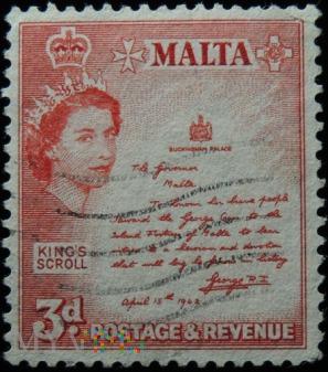 Malta 3d Elżbieta II