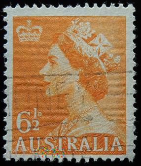 Australia 6 1/2 D Elżbieta II