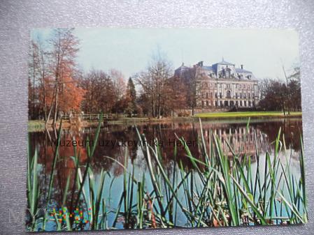 PSZCZYNA Pałac z XV-XIX wieku . Widok od strony pa