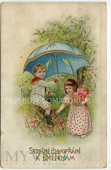 Imieninowa z obiegu 1914