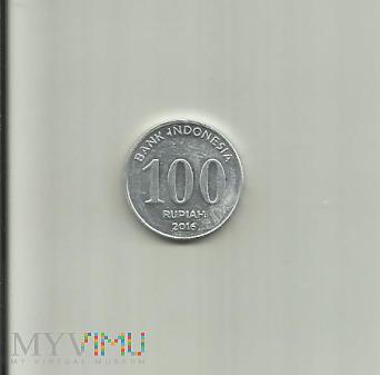 Indonezja 100 rupii, 2016