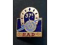 Pamiątkowa odznaka 37 Pułku Artylerii _ Francja