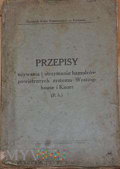 M-1920 Przepisy o hamulcach powietrznych W i K