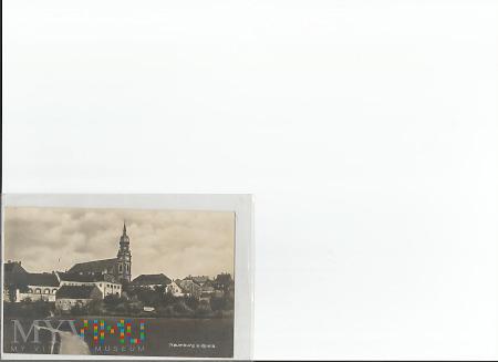 Duże zdjęcie Pocztwóka z Nowogrodźca Naumburg a Queis