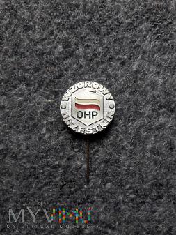 Wzorowy uczestnik OHP