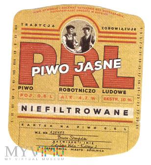 Piwo Jasne PRL