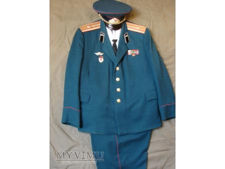 Mundur paradno-wyjściowy majora wojsk pancernych