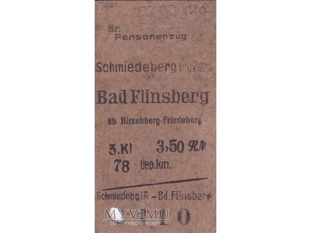 Duże zdjęcie Bilet Schmiedeberg - Bad Flinsberg