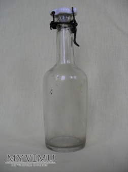 Butelka szklana - kabłąkowa (Polska, Poniec)
