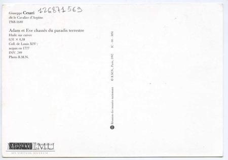 Guiseppe Cesari - Wygnanie z raju