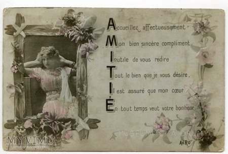 AMITIÉ - PRZYJAŹŃ 1909