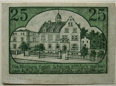 Ścinawa- Pieniądz zastępczy 25 pf