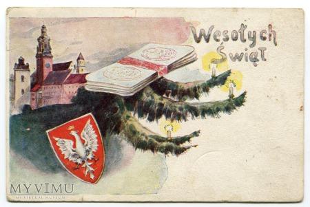 1929 Boże Narodzenie Warszawa Praga Ząbkowska