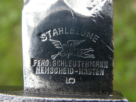 BAGNET S 98/05 Z PIŁĄ LIŚCIAK STAHLBLUME