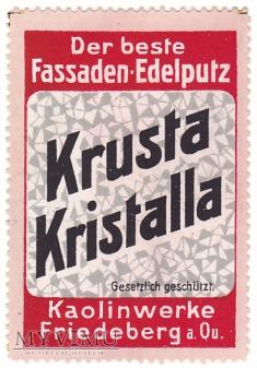Przedwojenny znaczek reklamowy Friedeberg a/Qu.