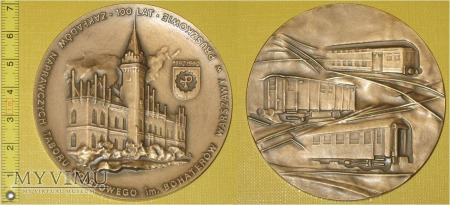 Medal kolejowy - firmowy ZNTK Pruszków