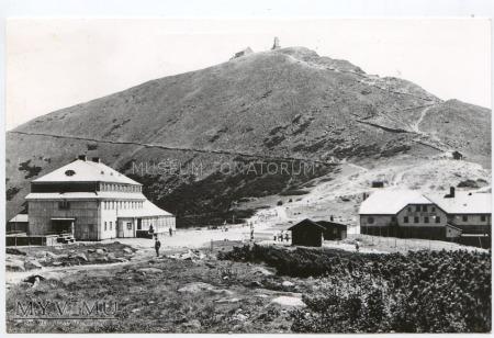 Karkonosze Śnieżka Schneekoppe 1966