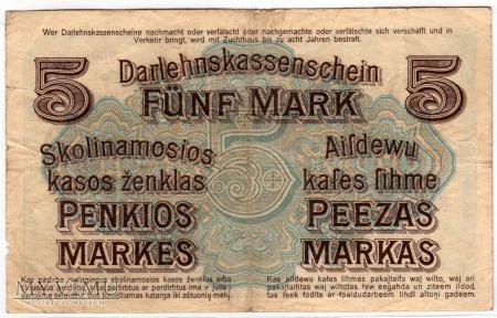 04.04.1918 - 5 Marek - Kowno