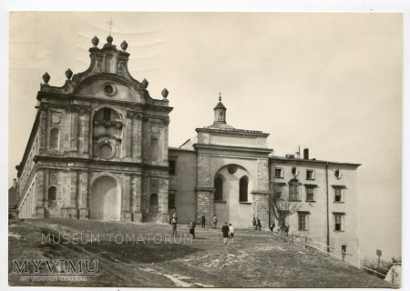 Góry Świętokrzyskie Klasztor Święty Krzyż 1970