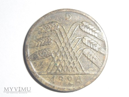 10 pfennig 1924 D