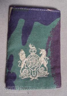 Wieka Brytania-oznaka stopnia: warrant officer 1rd