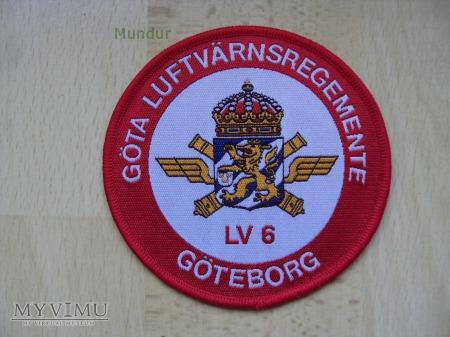 Oznaka organizacyjna: GÖTA LUFTVÄRNSREGEMENTE