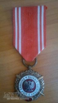 """Duże zdjęcie Medal """"Siły zbrojne w służbie ojczyzny V"""""""