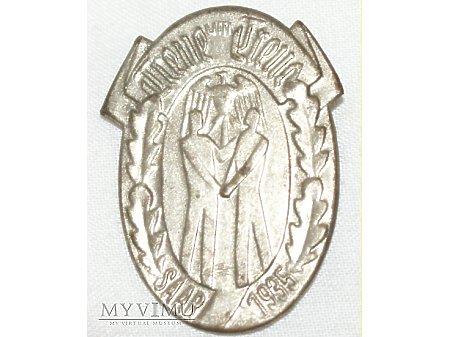Odznaka propagandowa Saar 1935