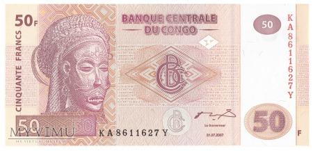 D.R. Konga - 50 franków (2007)