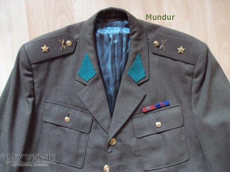 Czechosłowacki mundur - podporucznik