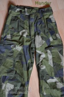 Szwecja: mundur polowy m/90 spodnie