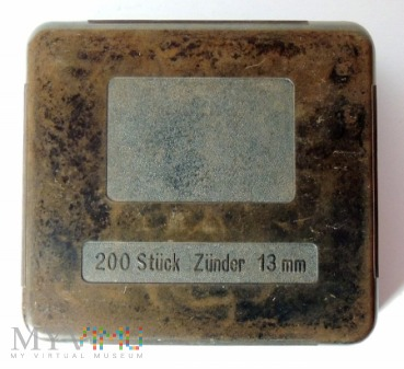 Pudełko na 200 Zünder 13 mm