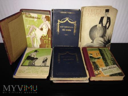Książki, czasopisma, nuty z okresu 1900-1940