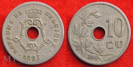 Belgia, 1904, 10 centimes