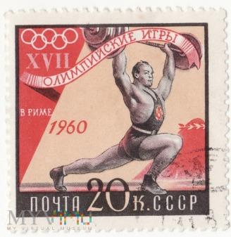 1960r XVII Igrzyska Olimpijskie w Rzymie 5