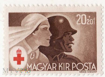 WĘGRY 20f Czerwony Krzyż