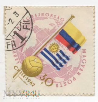 Węgierskie Znaczki pocztowe - CHILE 1962