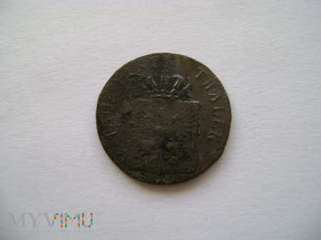 2 pfennige 1821