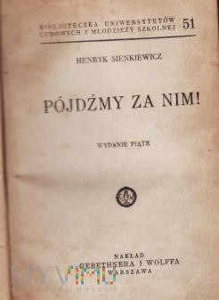 Powieść H.Sienkiewicza z ok.1930.