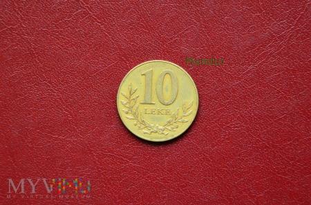 Moneta albańska: 10 leke