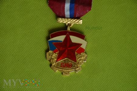 Medal czechosłowacki SNB