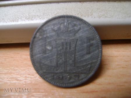 Duże zdjęcie moneta belgijska