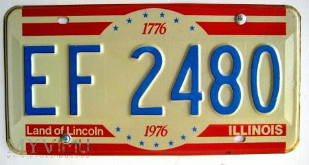 Duże zdjęcie Stanowa tablica rejestracyjna pojazdu