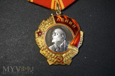 Order Lenina + Legitymacja - zgodny numer