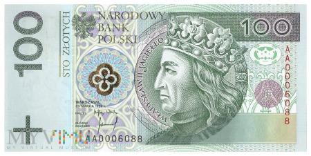 Polska - 100 złotych (1994)