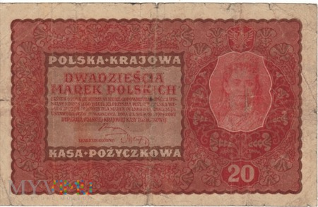 POLSKA 20 MAREK POLSKICH 1919