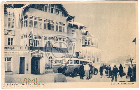 Duże zdjęcie Karkonosze - Karpacz - Hotel Zdrojowy - 1949